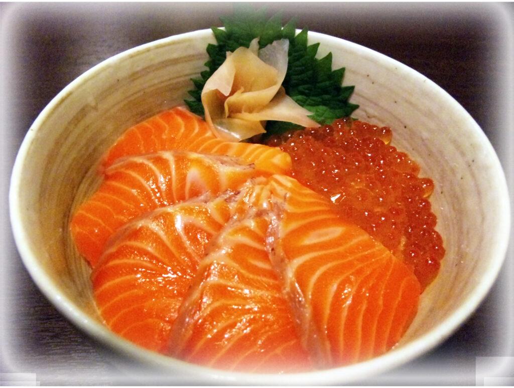 海鮮漬け丼定食